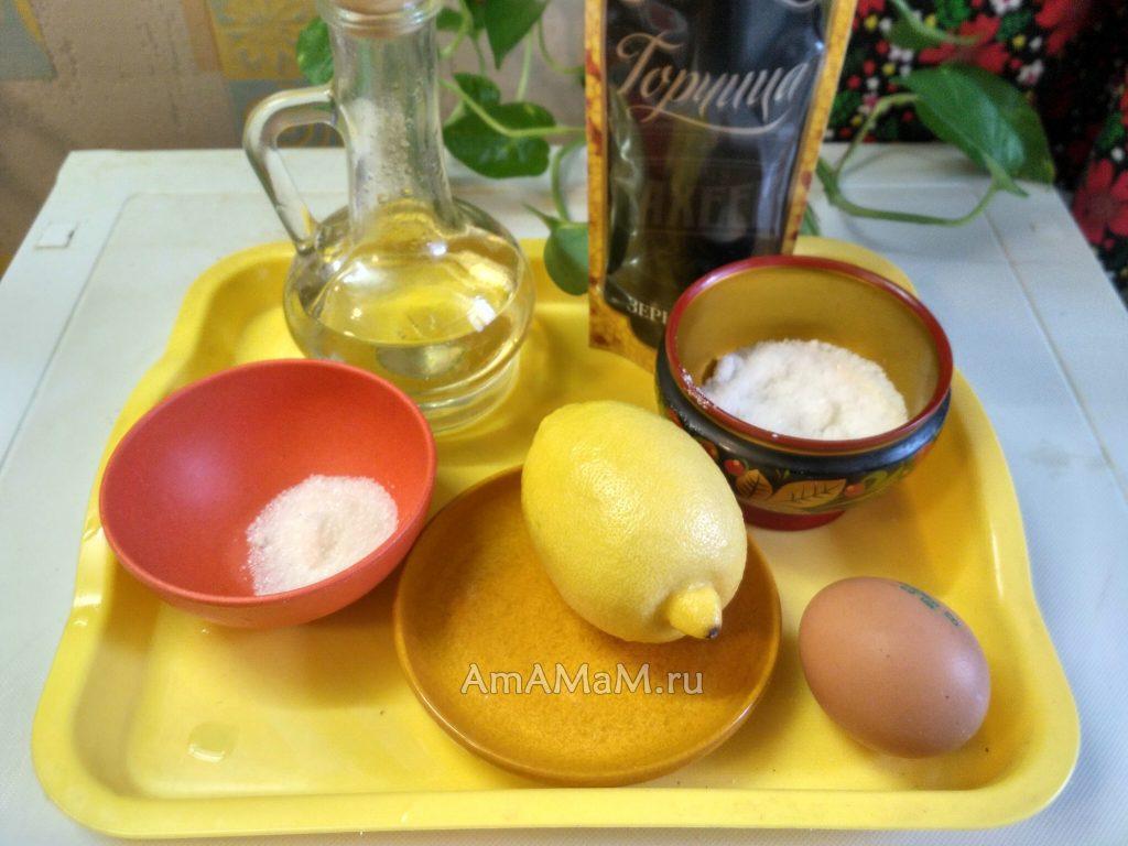 Ингредиенты домашнего майонеза