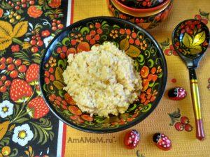 Каша тыквенная пшенная - рецепт и фото приготовления