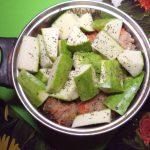 Котлеты тушеные с кабачками - процесс приготовления