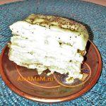Торт Наполеон из полосок (простой рецепт)