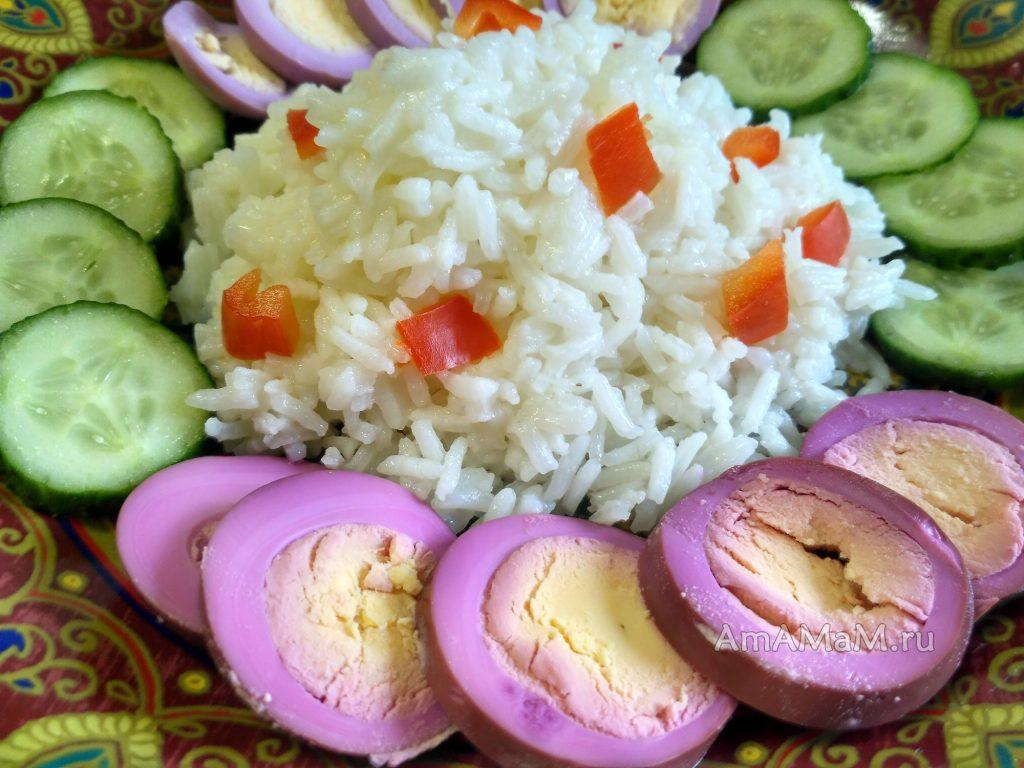 Рассыпчатая каша из риса