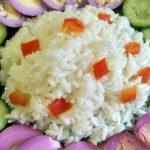 Каша из риса рассыпчатая, варить 10- минут