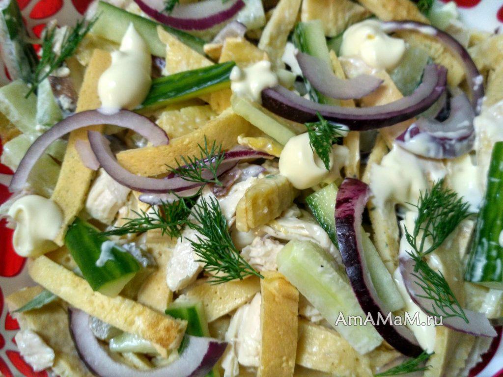Необычный салат неизвестно из чего - секреты приготовления и состава