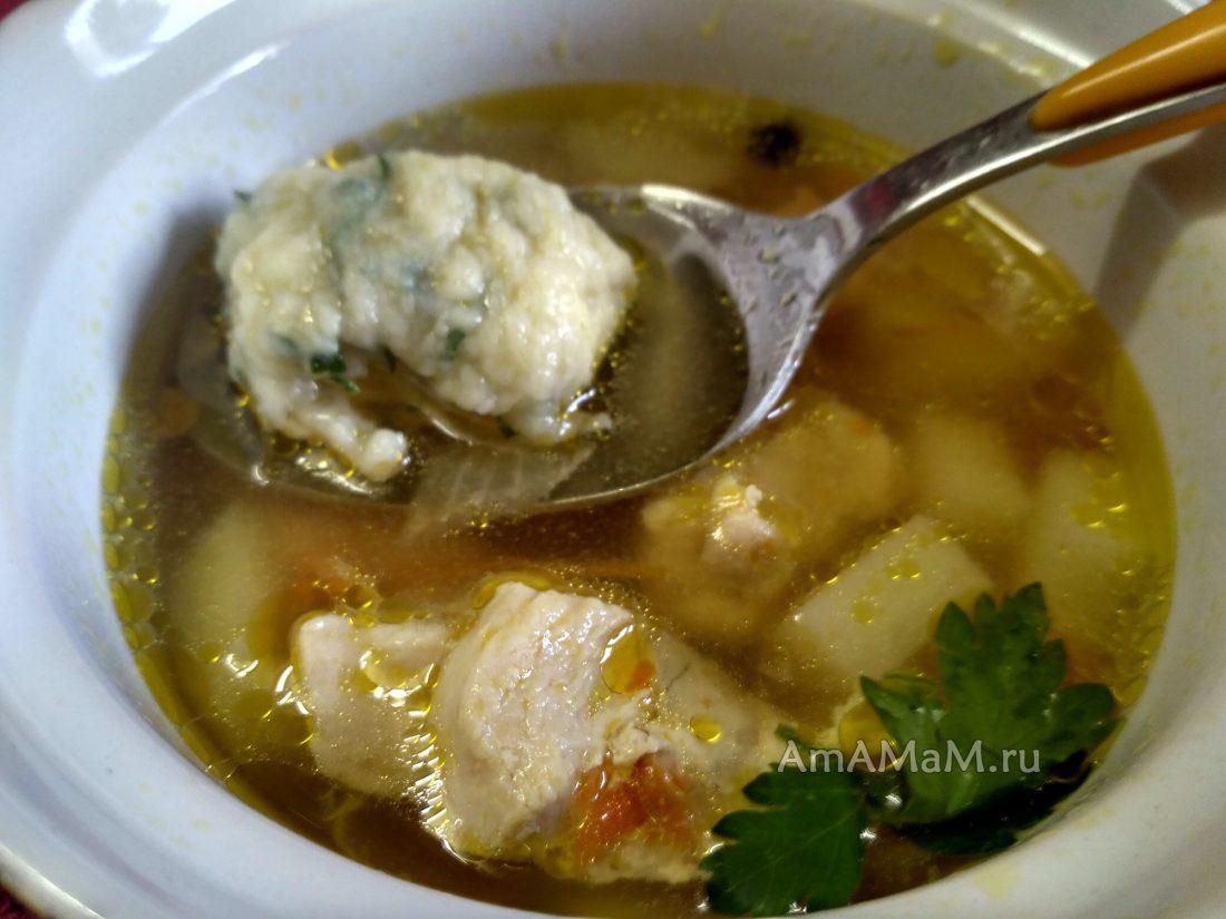 Как делать галушки для супа рецепт