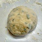 Тесто чесночное с зеленью для галушек