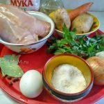 Что нужно для приготовления супа с галушками на куриной грудке