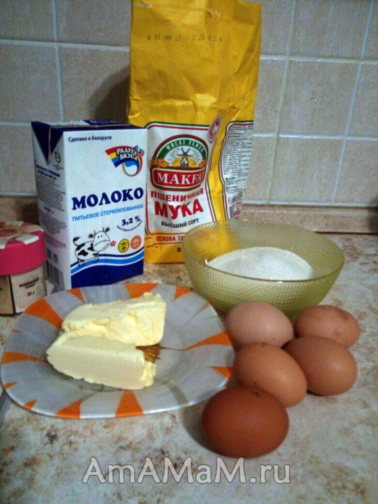 Что нужно для Наполеона домашнего приготовления
