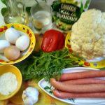Что приготовит из цветной капусты - рагу с сосисками