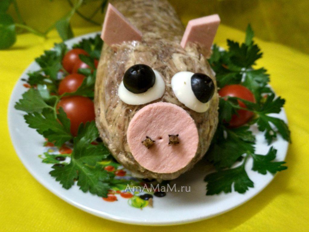 Свинка-холодец