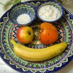 Состав десерта с хурмой - что положить