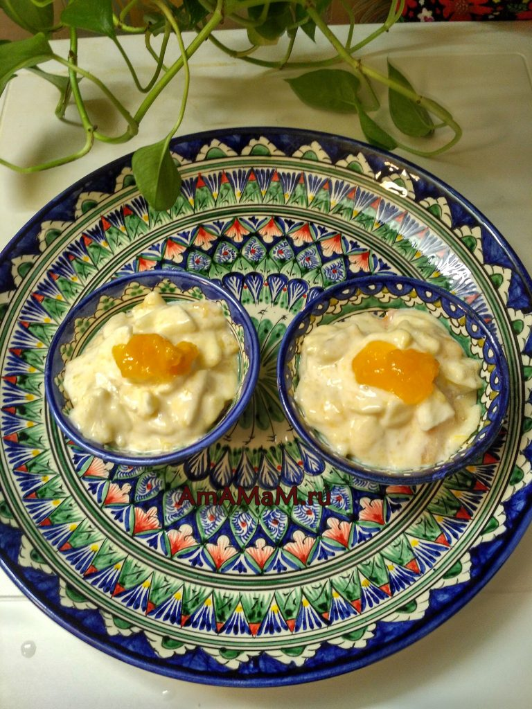 Хурма - десерт