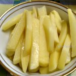 Картошка брусками