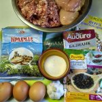 Домашние колбаски -состав рецепта