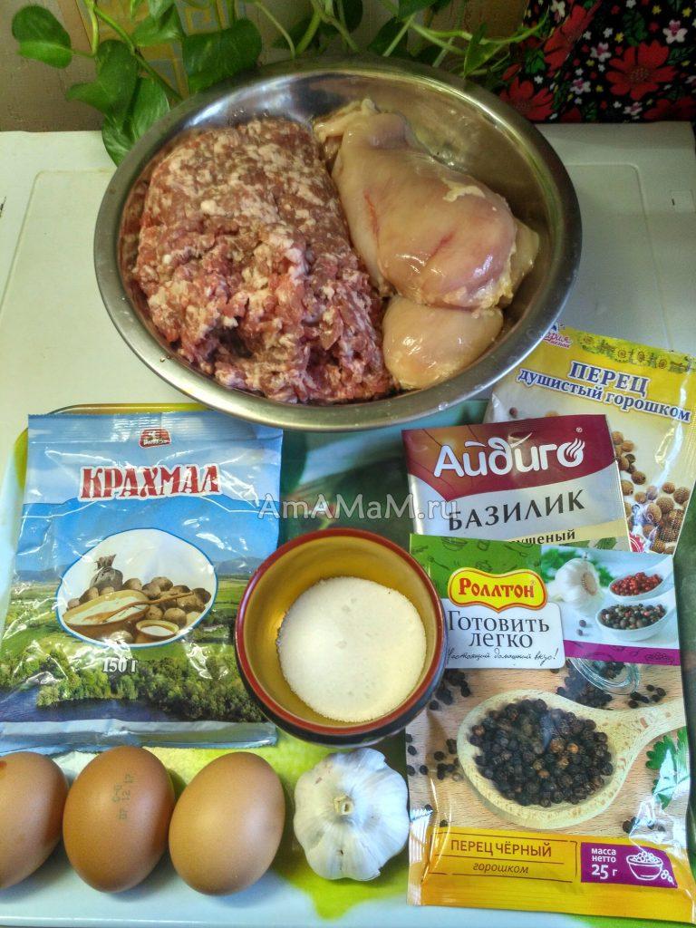 Состав домашних колбасок и рецепт в фольге