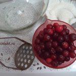 Состав клюквенного морса и кухонная утварь