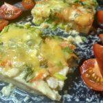 Рецепт филе палтуса с морковью и сыром
