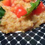 Каша пшеничная в томате со сладким перцем