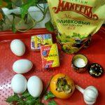 Что нужно для салата с сырками и хурмой