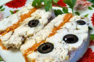 Рецепты терринок - из курицы с маслинами