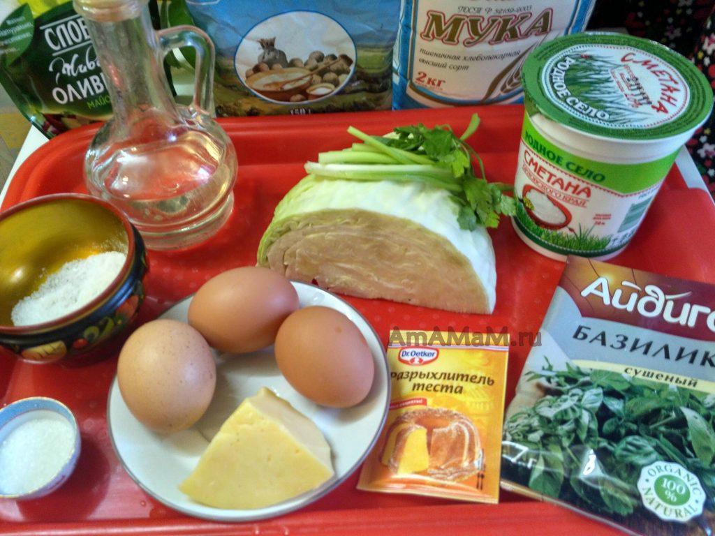 Из чего делают запеканку с жареной капустой - состав продуктов