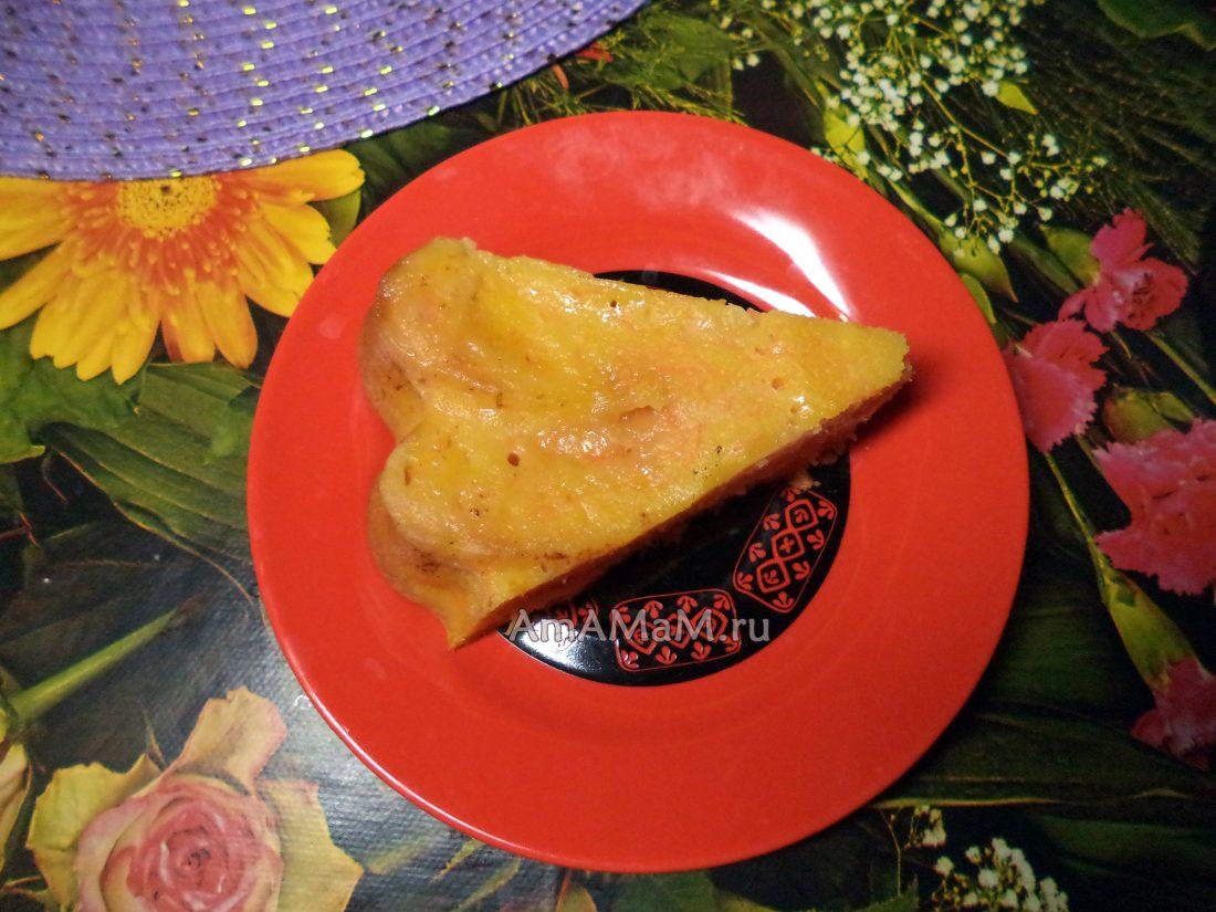 Пирог с растительным маслом рецепт