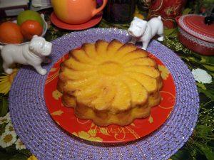 Домашний пирог из морковки с апельсином