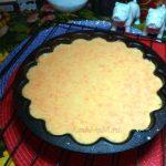 Как делают апельсиново-морковный пирог - фото