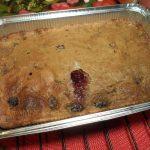 Пироги из ежевики - бисквитное тесто