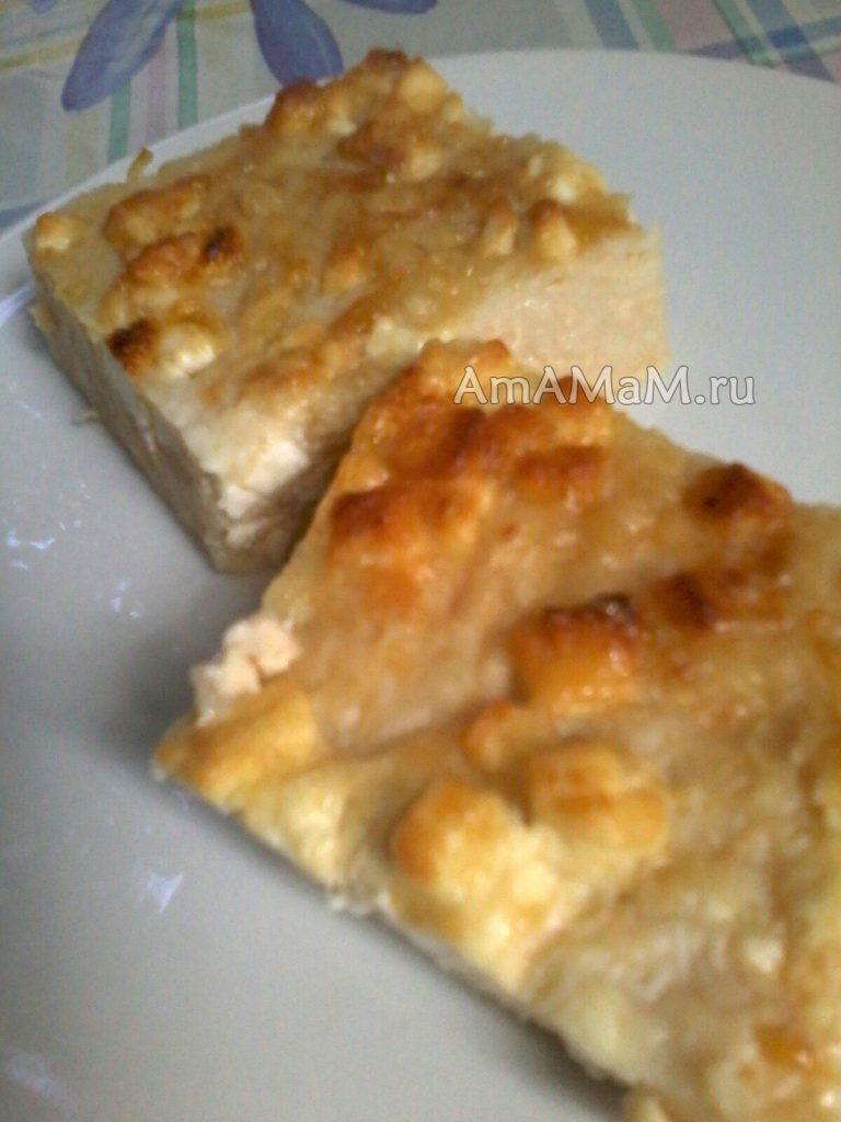 Пирог с фетой и траханами - траханопита