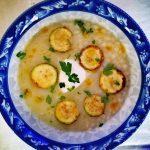 Греческий суп с молочными макаронами
