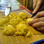 Картофель - нарезка для супа