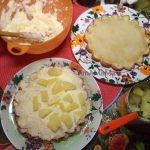 Ананасовый пирог с апельсиновыми коржами