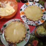 Торт апельсиновый с кусочками ананасов