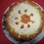 Торт из ананасов с апельсиновым бисквитом