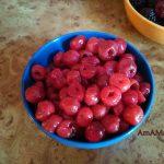 Вишня - фото замороженных ягож