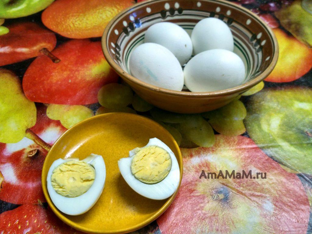 Яйца печеные - рецепт и фото