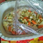 Бедрышки с картофелем - пошаговые фото запекания