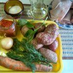 Что нужно для запекания бедрышек с картофелем в рукаве