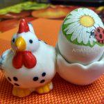 Декупаж яиц - фото готового пасхального яйца