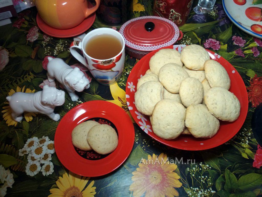 Вкусное домашнее печенье