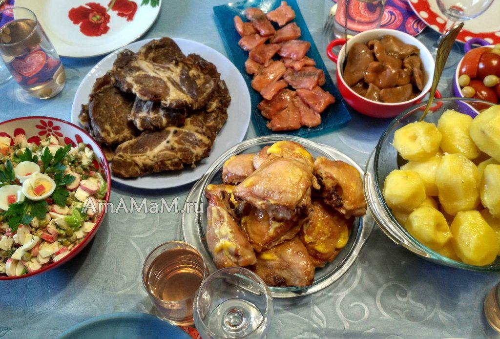 Рецепты для праздника - недорогое меню