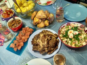 Рецепты для праздничного стола - недорого и вкусно