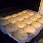 Медовое печенье на противне