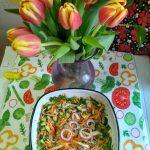Вкусный салат из капусты и огурцов на скорую руку