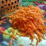 Тертая морковка (крупная терка)
