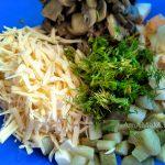 Приготовление польского салата из яиц