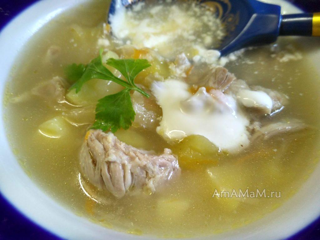 Капустняк - рецепт супа