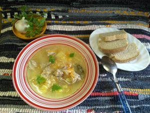 Суп из кислой капусты с пшеном - капустняк