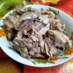 Мясо от ребрышек для запрвки супа