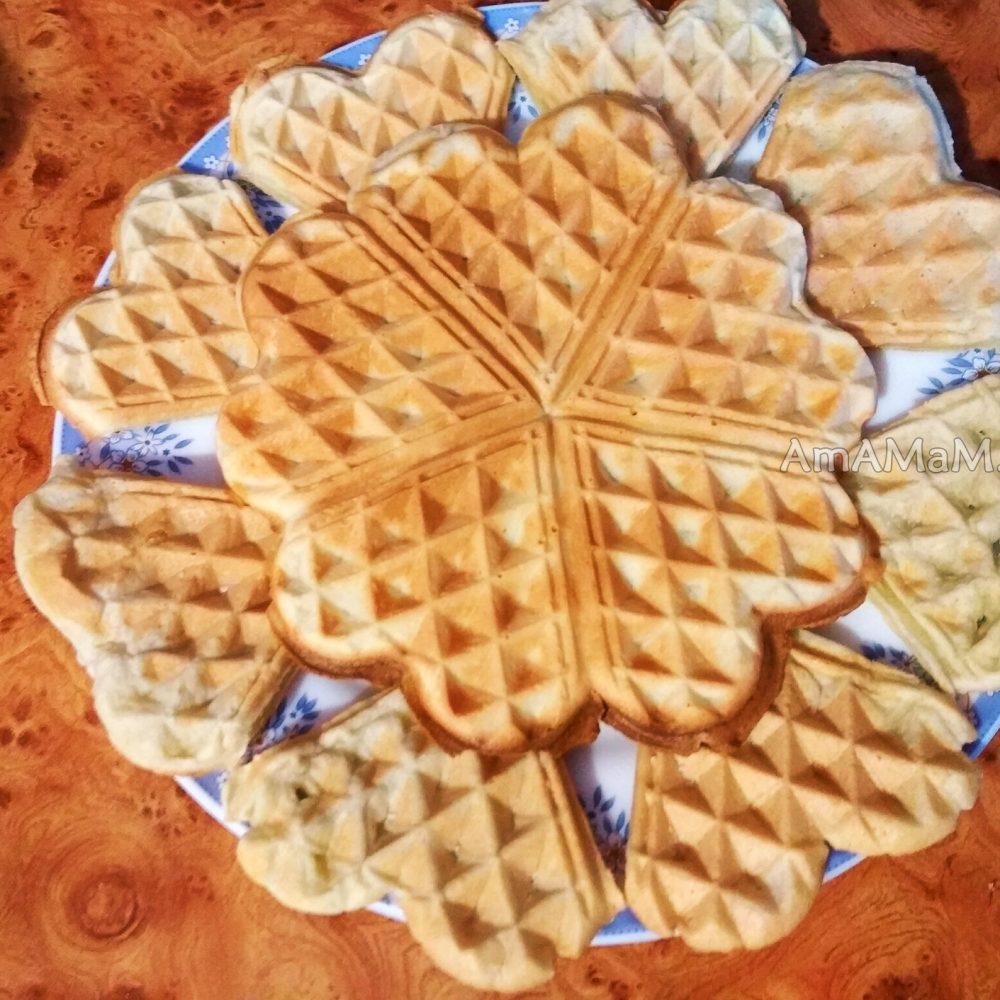 Как сделать тесто для вафель для электровафельницы